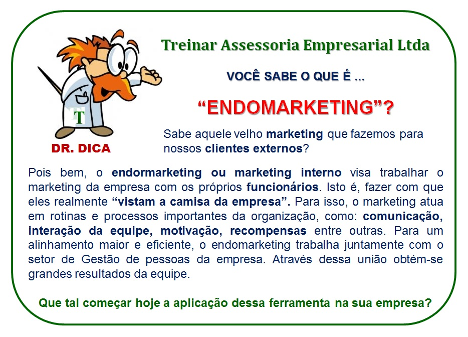 dr dica endomarketing